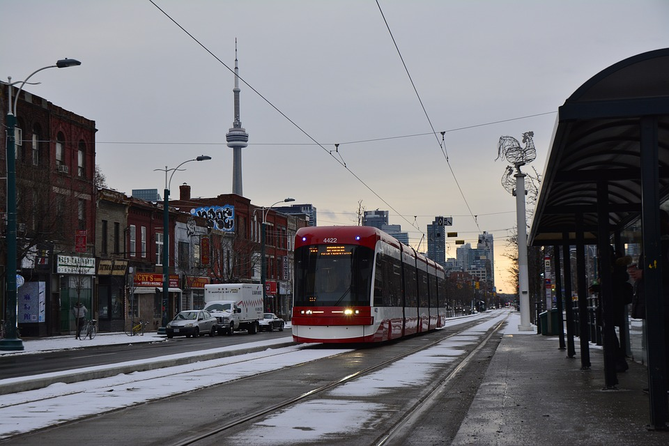 canada, toronto, tram