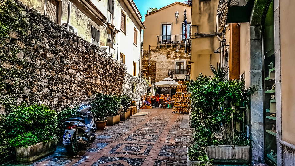 sicily, meal, travel