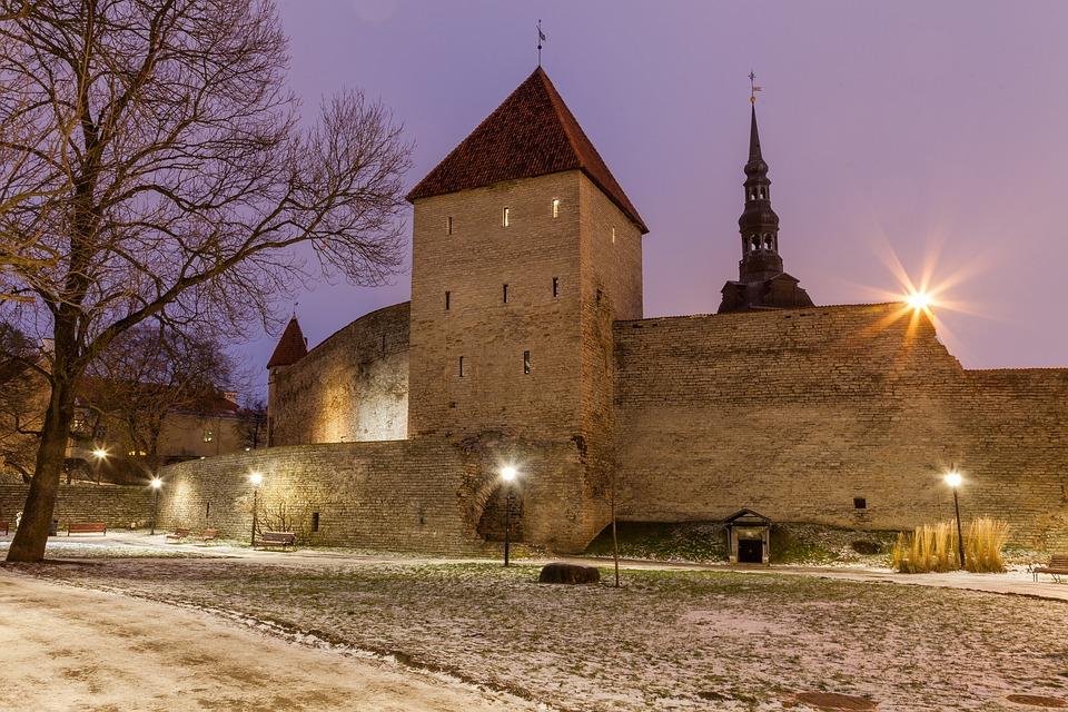tallinn, estonia, castle