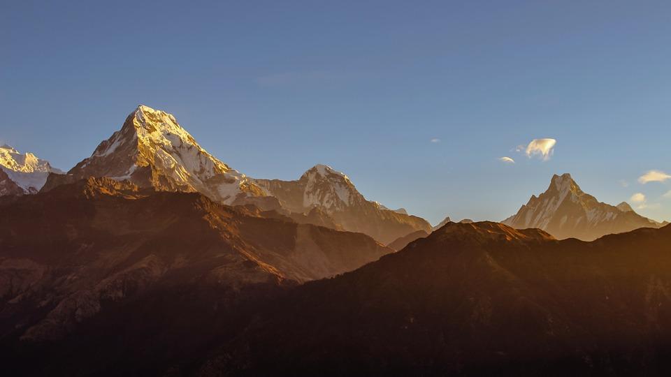 annapurna, himalayas, travel