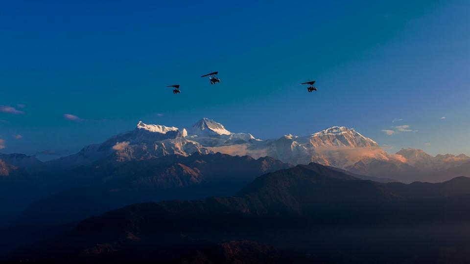annapurna, mountain, himalayas