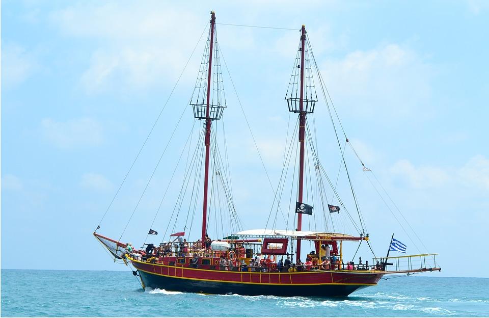 crete, boat, sea