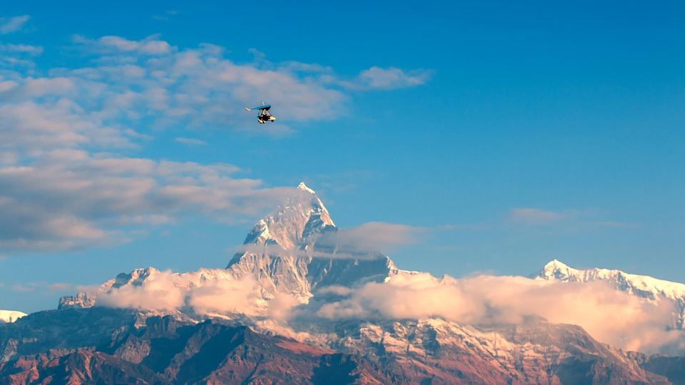 mountain, himalayas, landscape