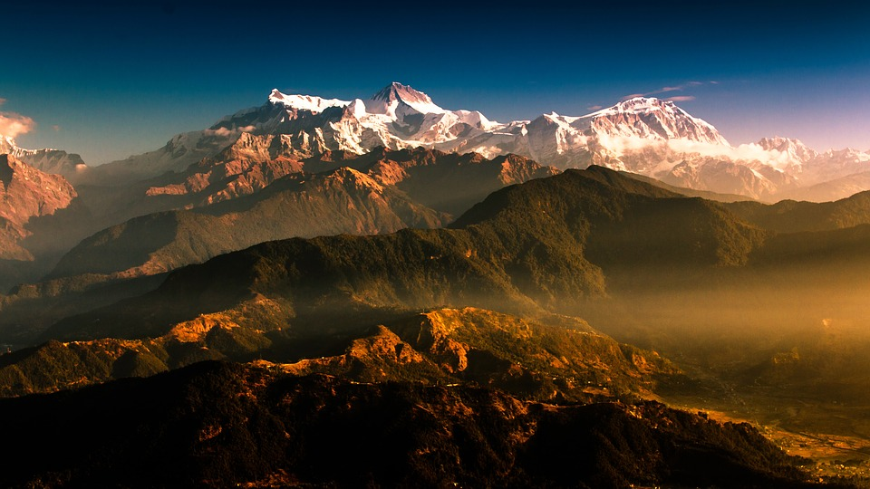 mountain, nepal, travel