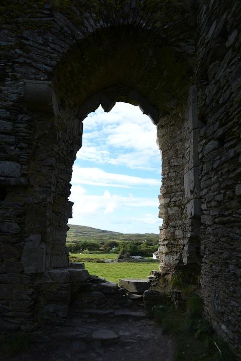 castle, ireland, vacation