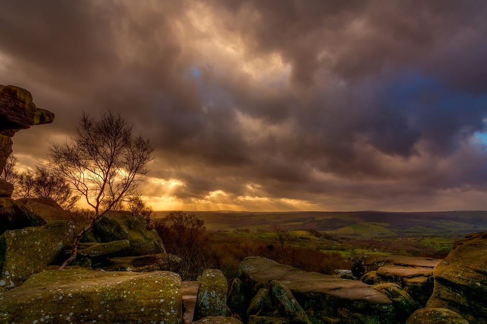 brimham rocks, brimham moor, yorkshire