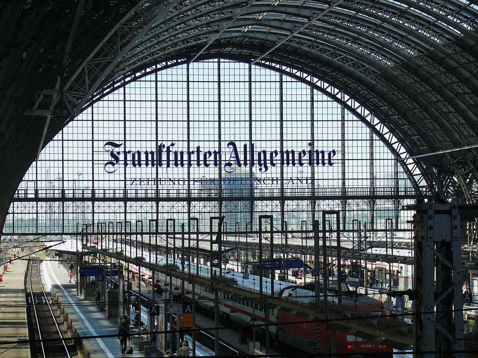 architecture, train ride, railway station