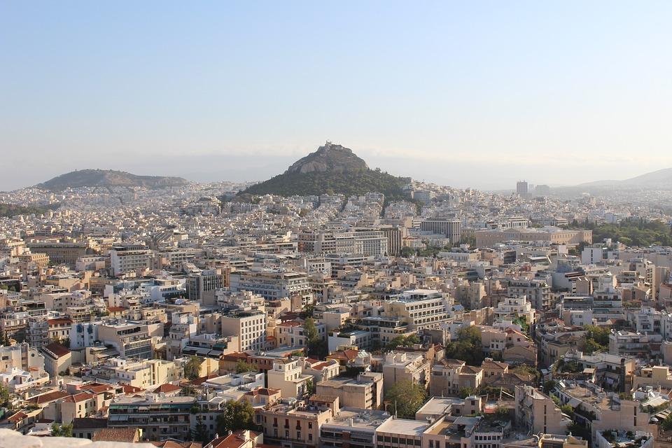 athens, acropolis, lycabettus