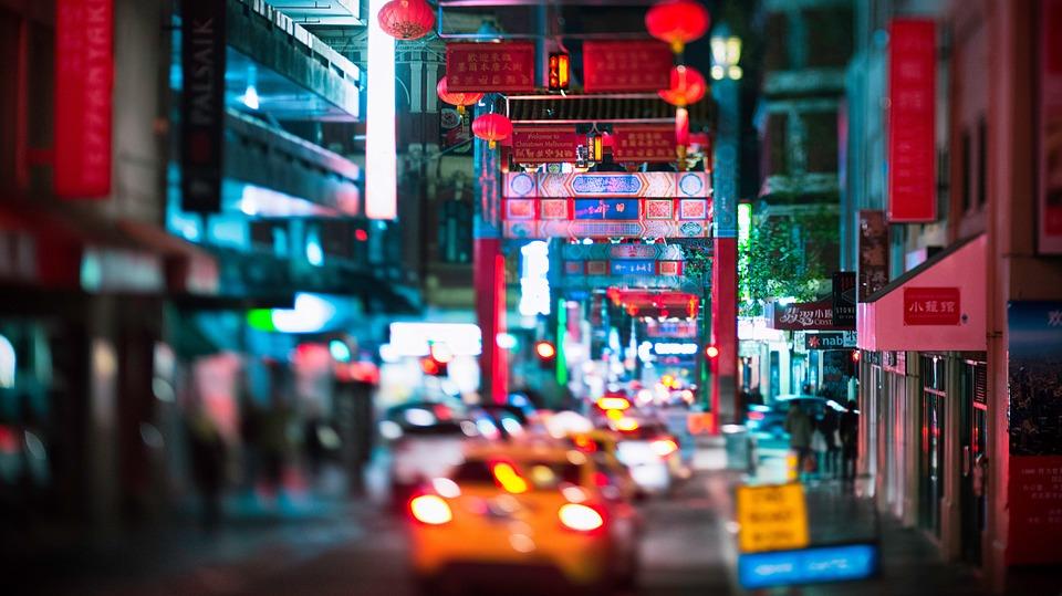 chinatown, urban, business