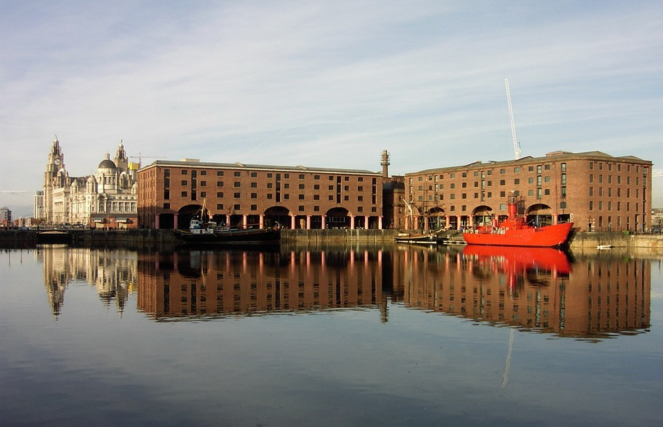 liverpool, boat, dock