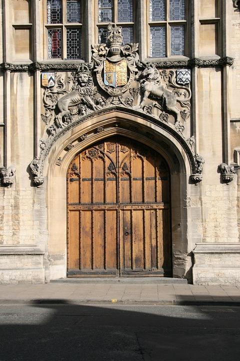 oxford, england, door