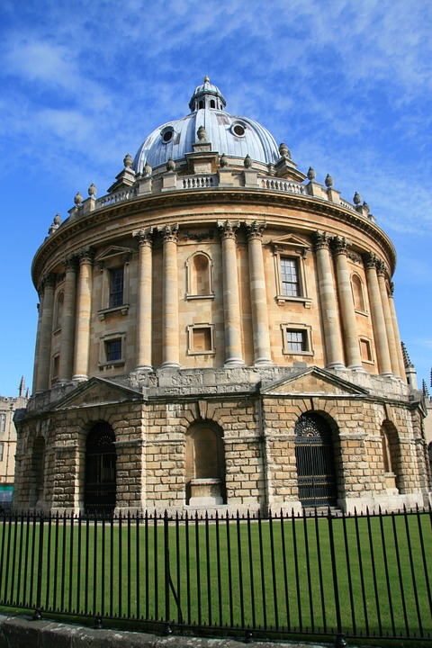 oxford, england, library