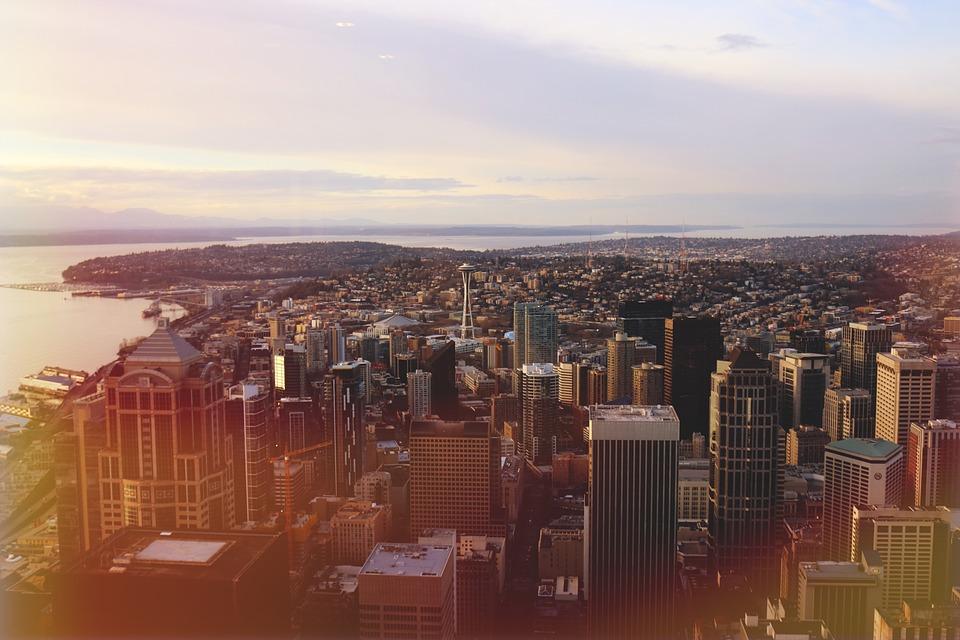 seattle, city, skyline