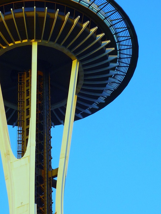 seattle, space, needle