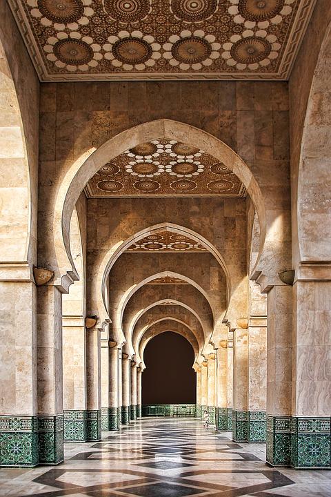 morocco, mosque, architecture
