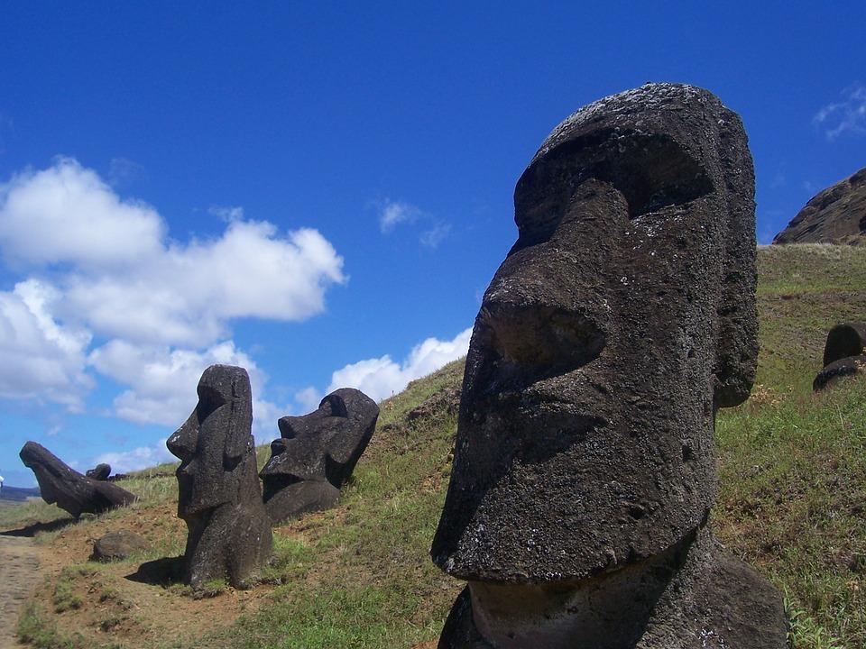 rapa nui, moai, easter island