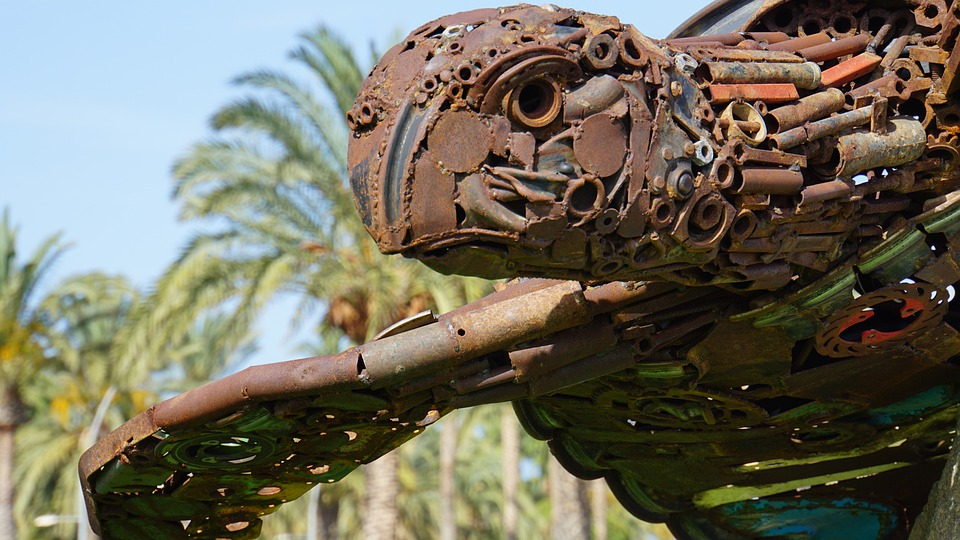sculpture, art, turtle