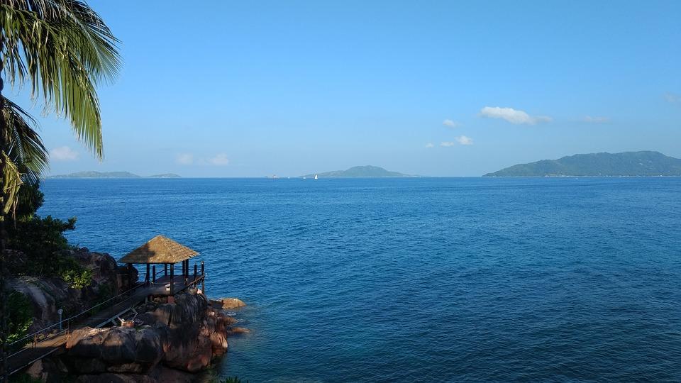 seashore, sea, beach