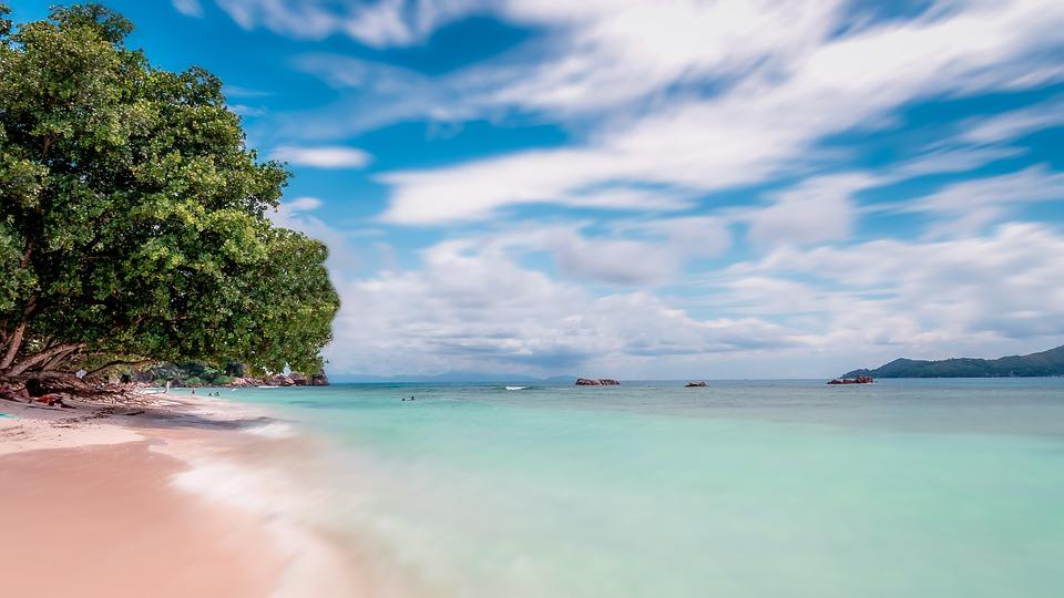 seychelles, beach, sea