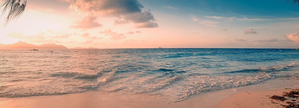 seychelles, panorama, sea