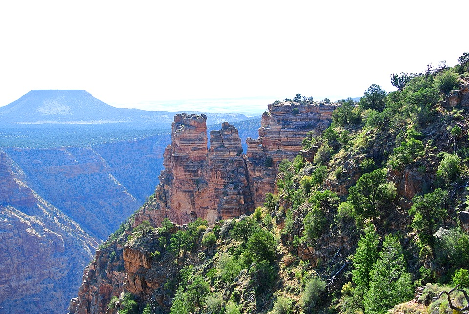 grand canyon, landscape, nature