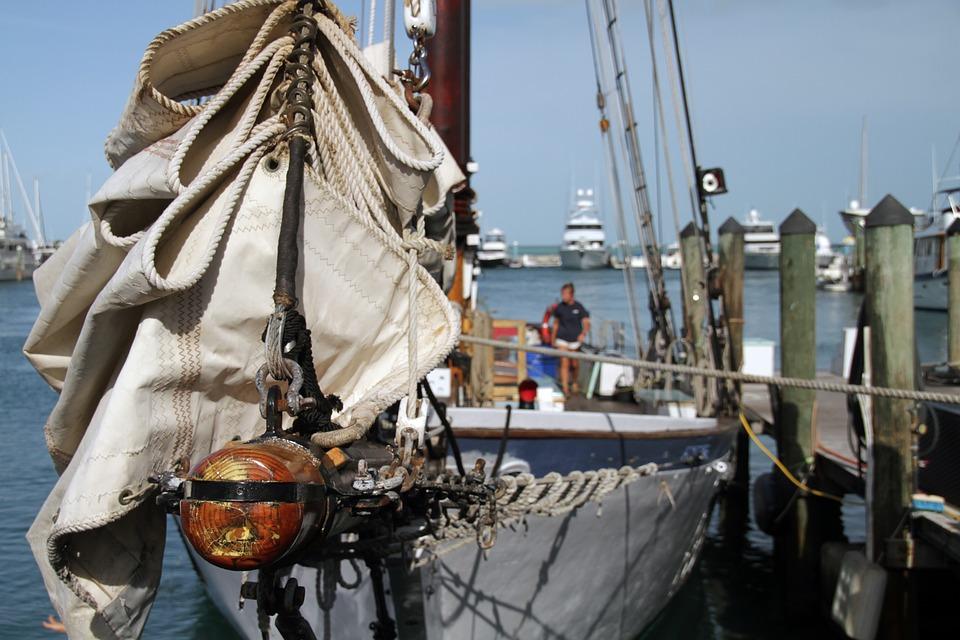 key west, sailing, boat