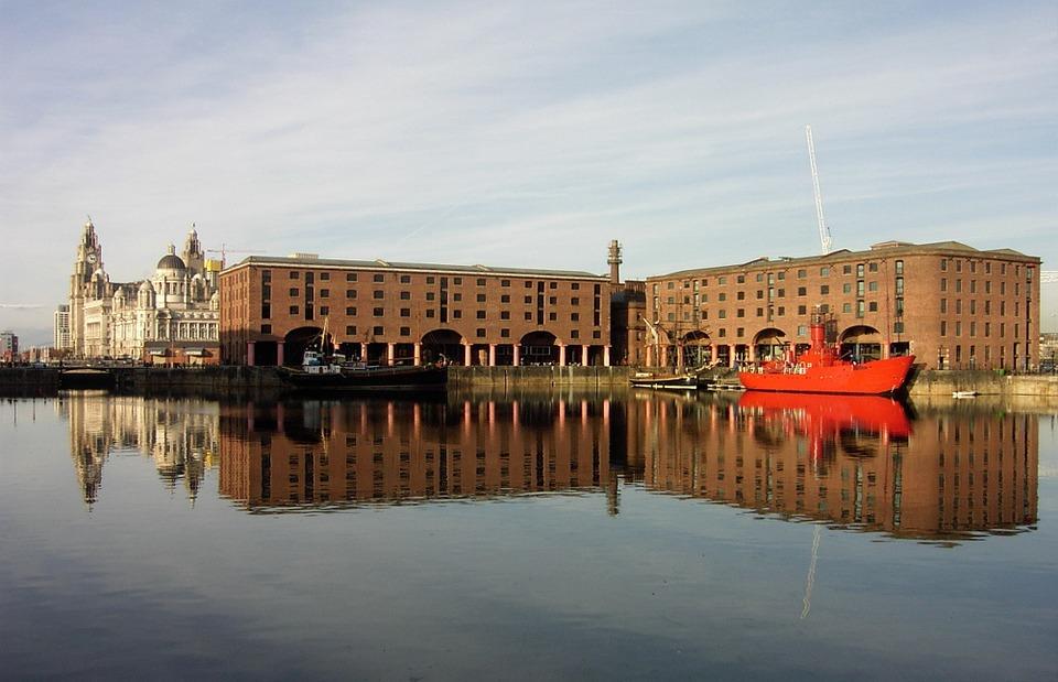 liverpool, boat, dock