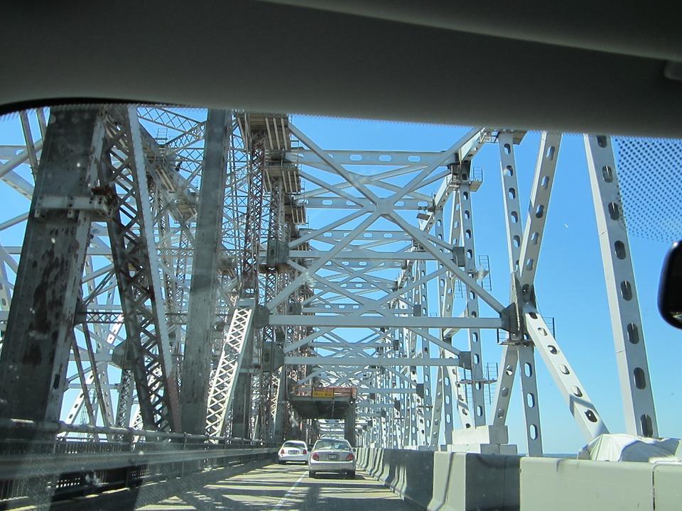 bridge, mississippi river, new orleans