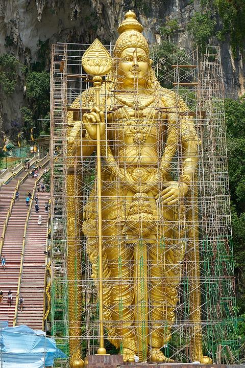 buddha, temple, sculpture