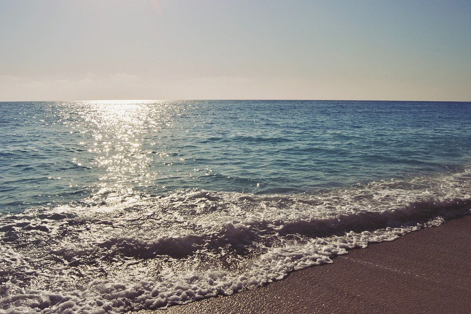 egremni beach, beach, water