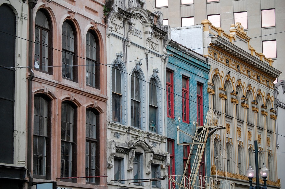 new orleans, architecture, buildings