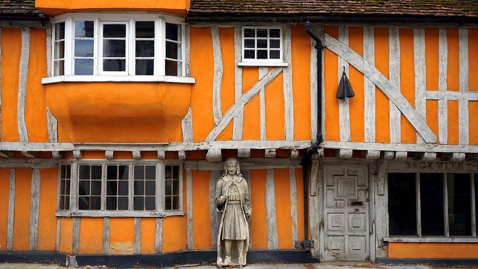old, building, antique