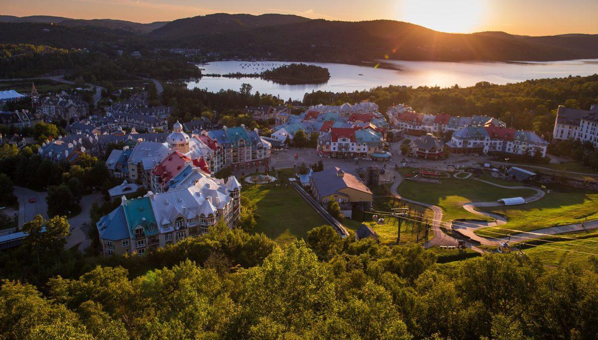 Plan your fall leaf-peeping trip to Mont-Tremblant in Quebec's Laurentian...