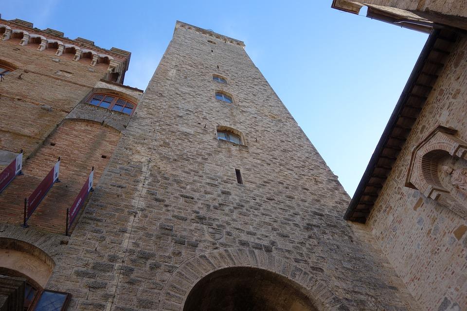 san gimignano, tuscany, tower