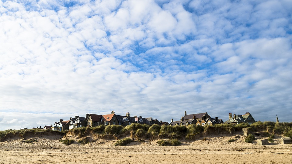 alnmouth, northumberland, village