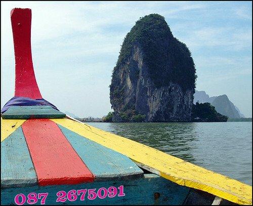 #Bangkok #Travel Bangkok Thailand Place should to visiting; Ao Phang Nga Bay...