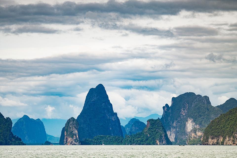mountains, tropical, thailand