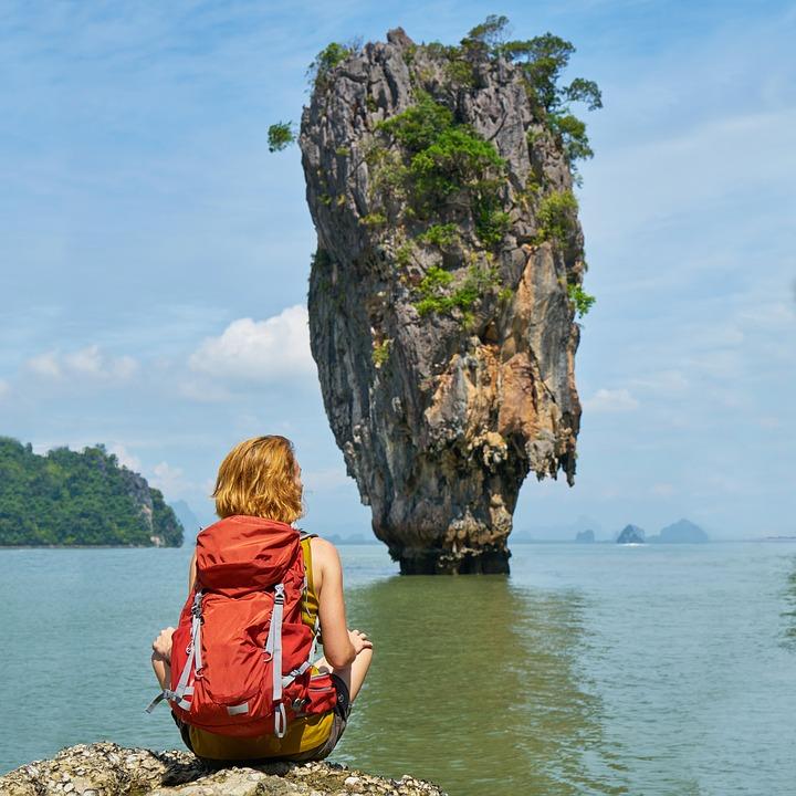 phang nga bay, phuket, james bond island