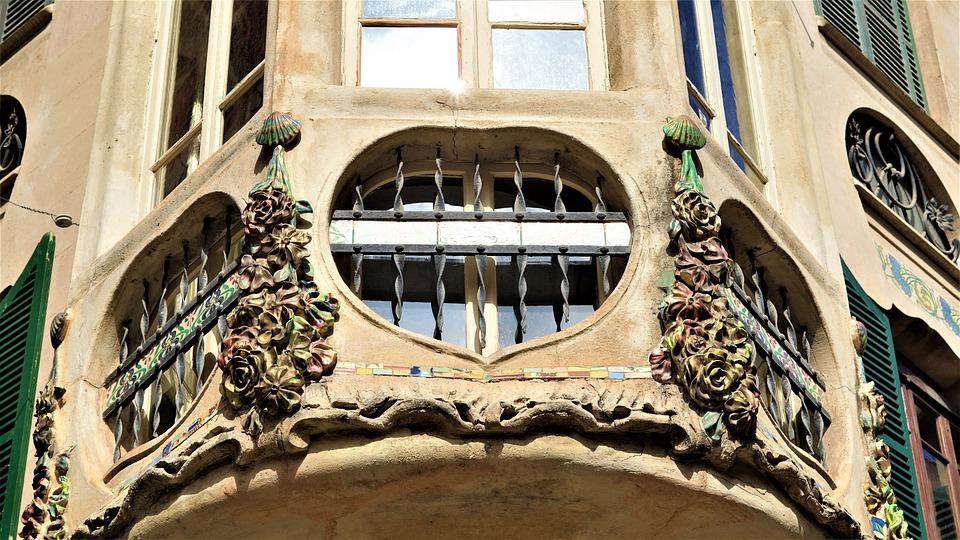 palma de mallorca, building, old
