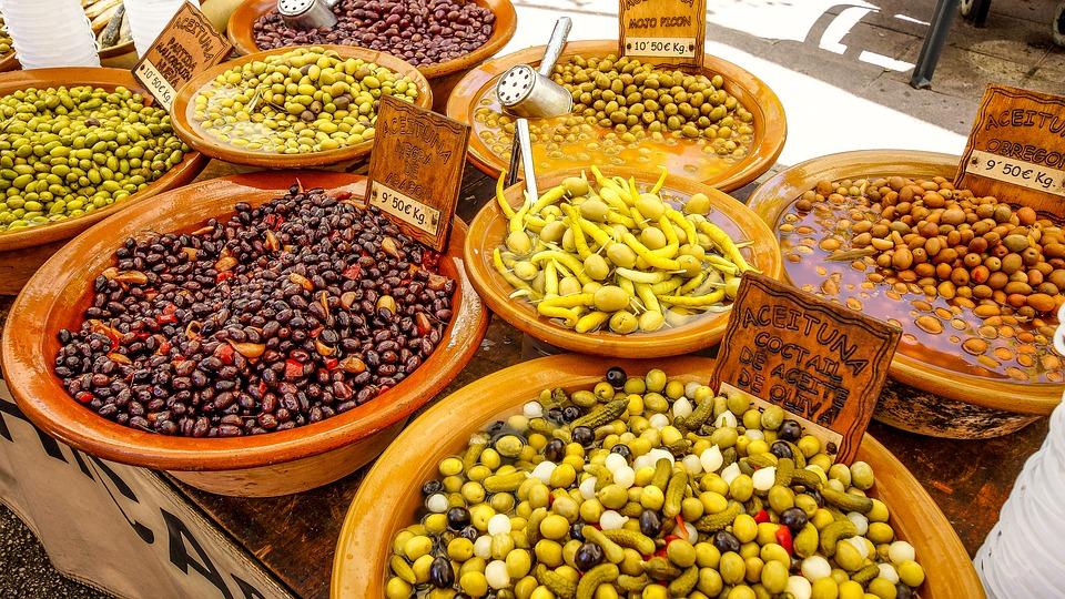 spain, mallorca, market