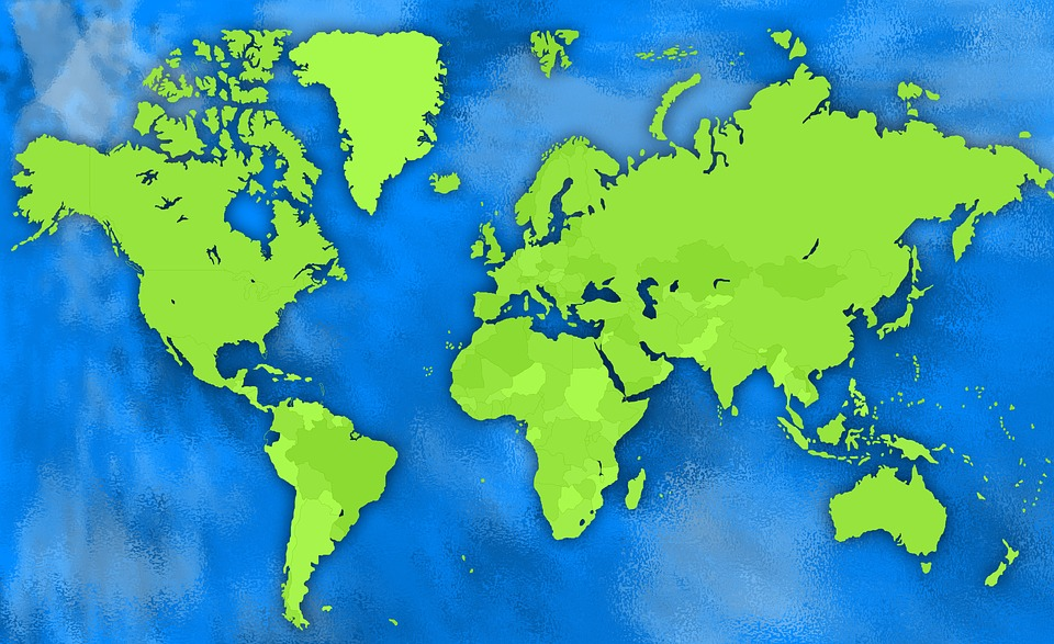 africa, america, antarctica