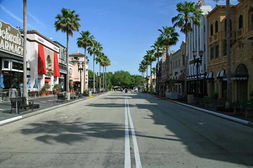 florida, universal studios, architecture