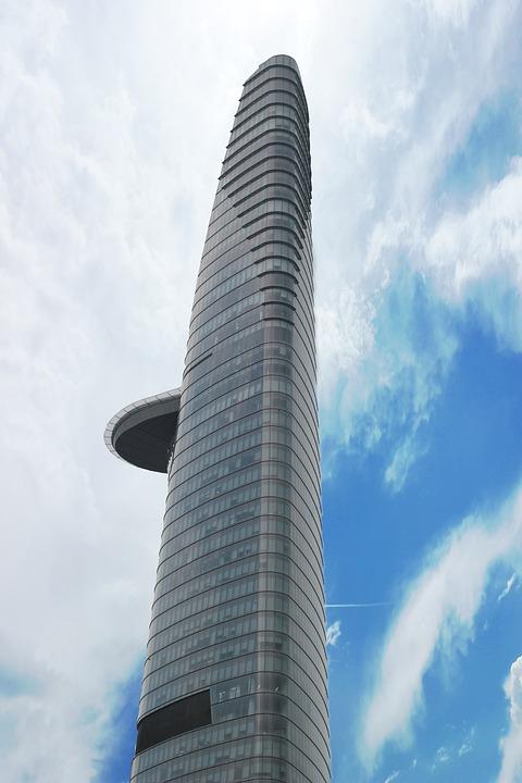 skyscraper, vietnam, city