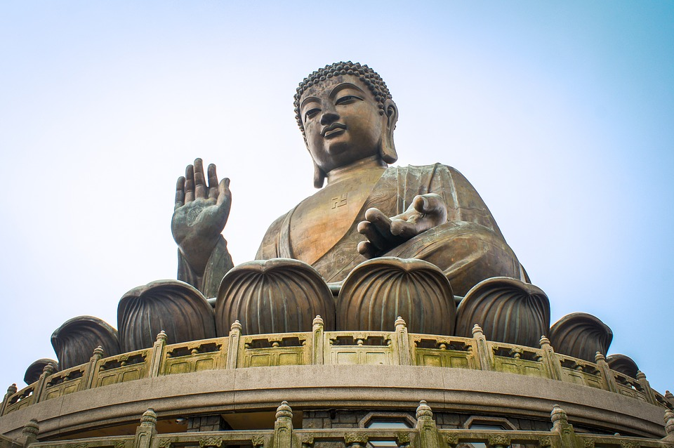 hong kong, lantau island, buddha