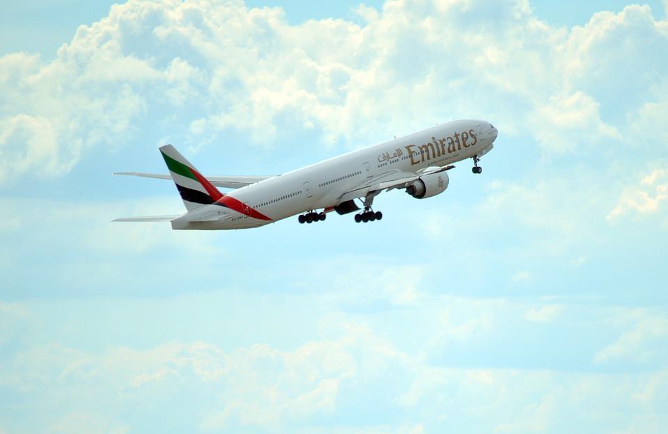 uae, emirates, flight