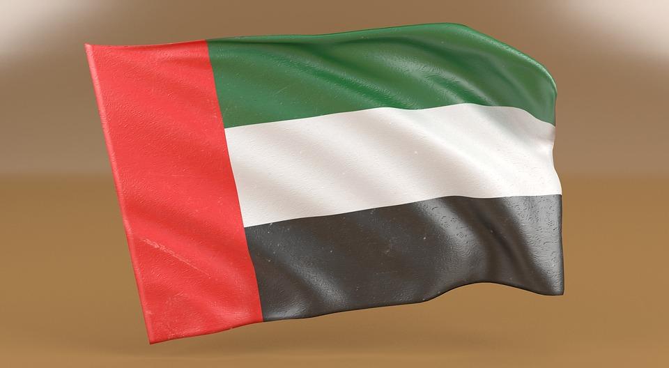 uae, flag, united